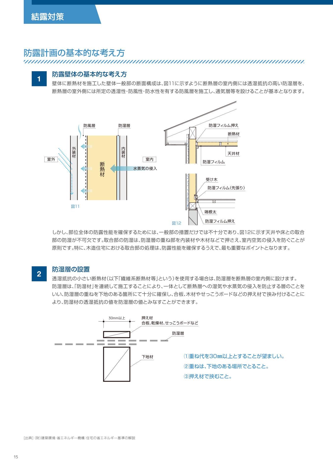 木造住宅用施工マニュアルP15