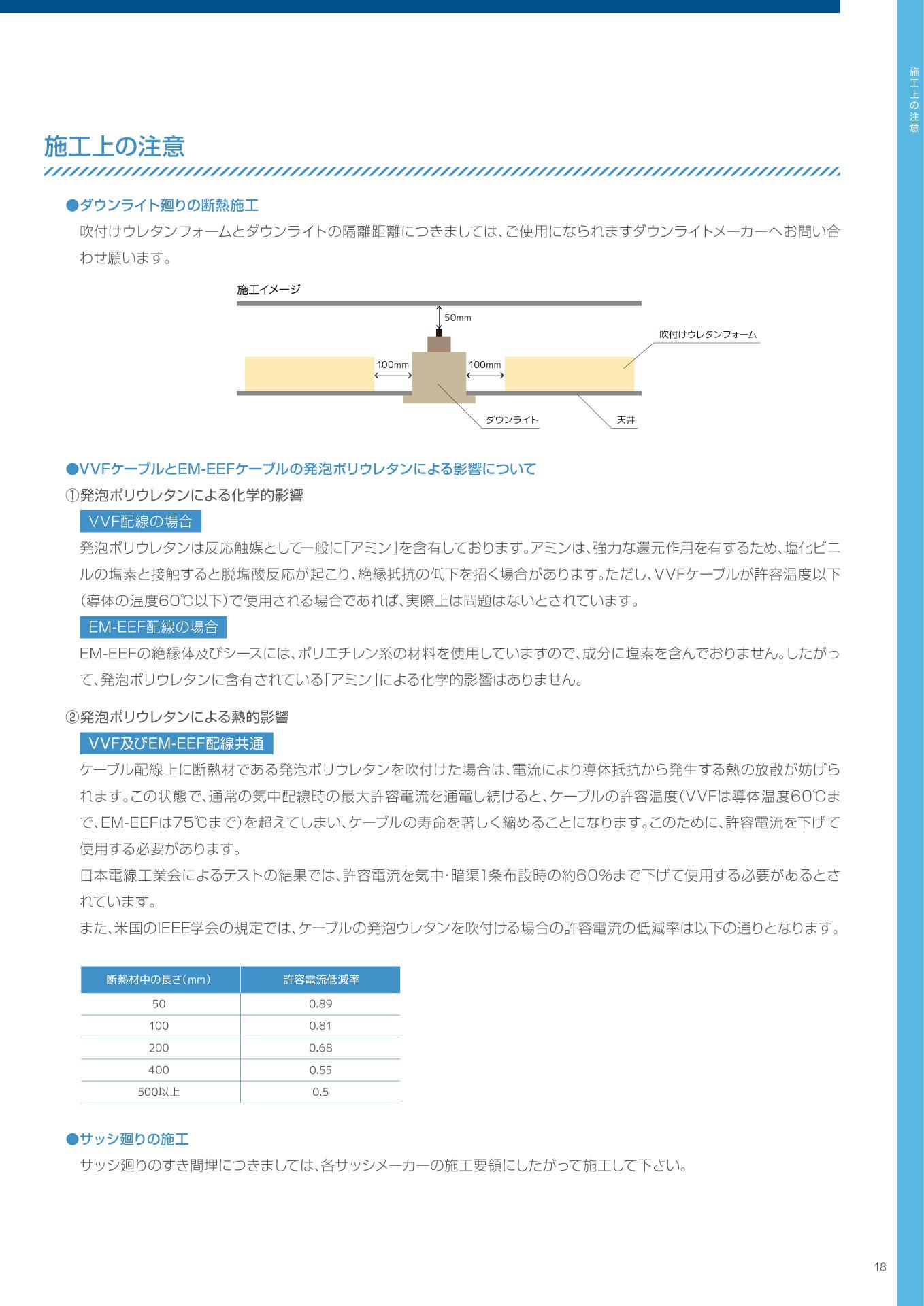 木造住宅用施工マニュアルP18
